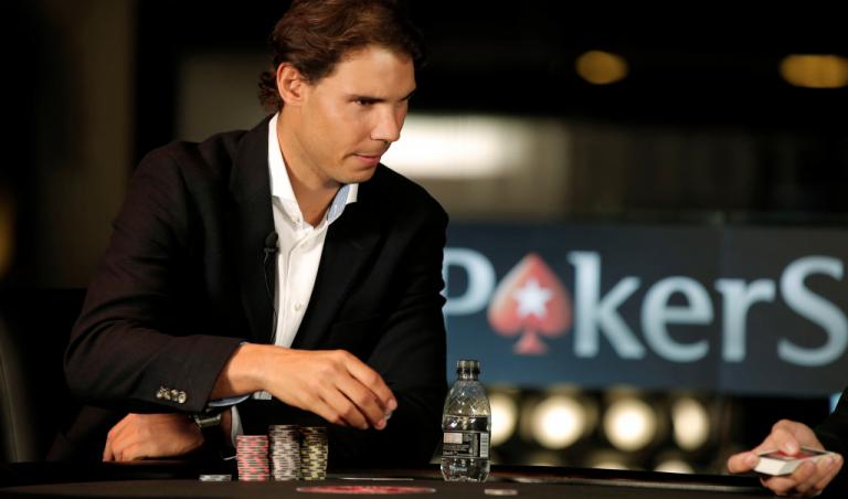 Rafael Nadal trocado por Cristiano Ronaldo no PokerStars
