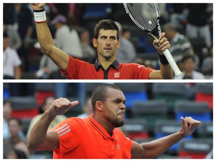 Djokovic e Tsonga encontram-se na final em Xangai