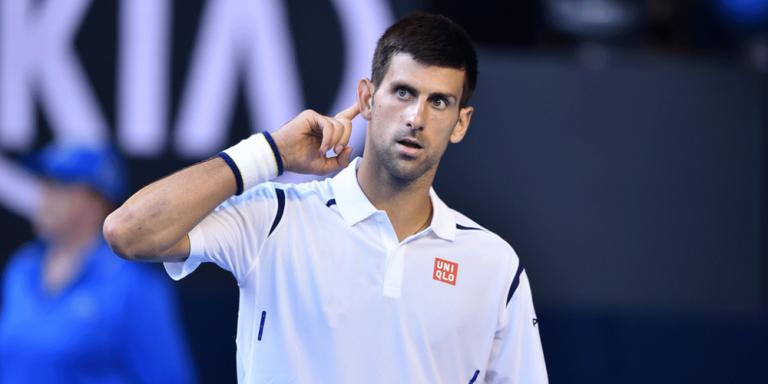 Djokovic responde a Simon: «Sou muito conhecido no balneário das mulheres»