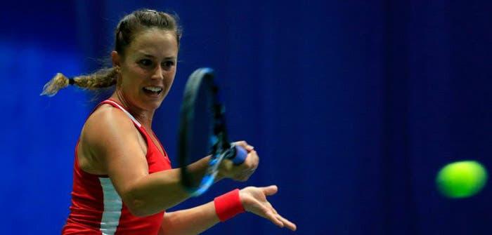 Michelle arrasa canadiana na primeira ronda do ITF de Naples