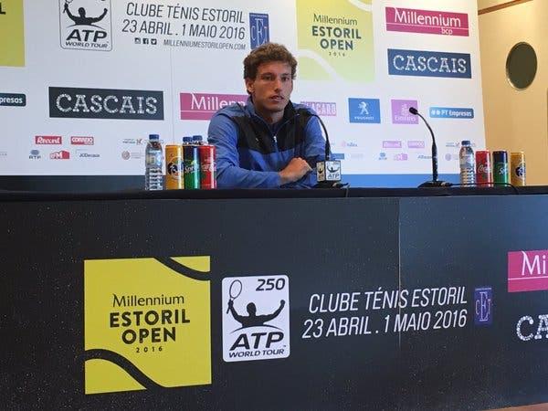 Pablo Carreño Busta: «Obviamente que estou lixado por não ter conseguido ganhar a final»