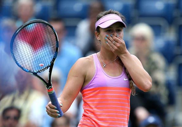 Michelle fica pela 1.ª ronda do qualifying no regresso à relva… e aos WTA