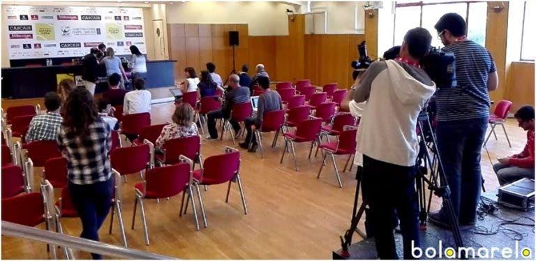 [Vídeo] Viagem à agitada sala de imprensa do Millennium Estoril Open