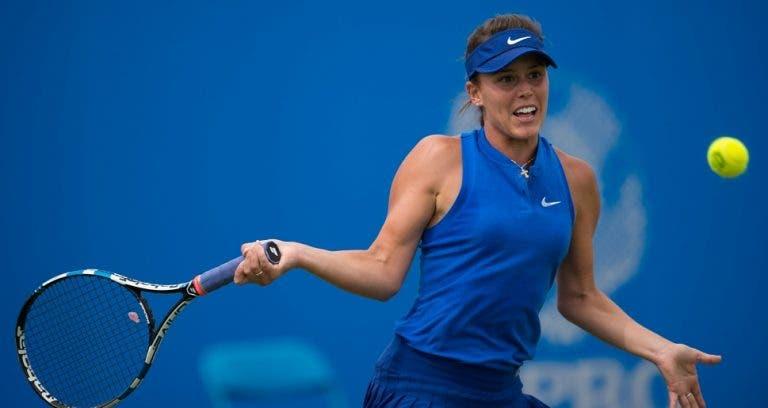 Michelle arrasada em pares no ITF de Tampa. Hoje joga singulares