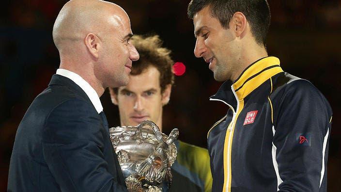 Agassi: «O Djokovic devia estar sempre a ganhar tudo»