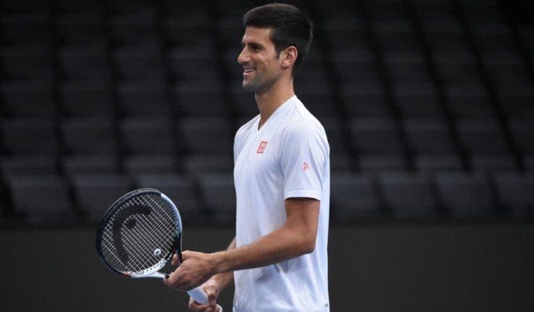 [VÍDEO] Veja como Djokovic treinava com apenas quatro anos