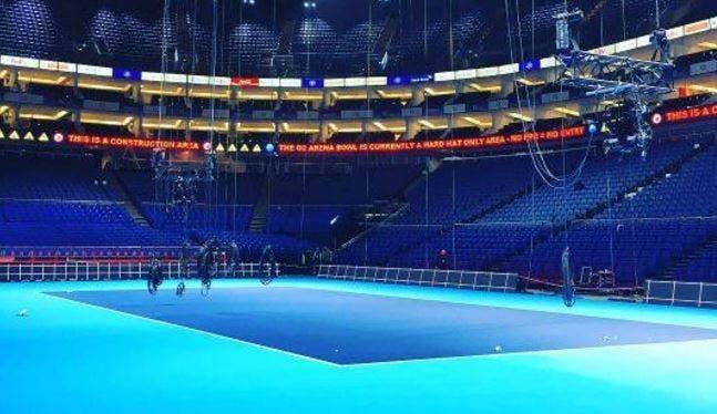 O2 Arena com medidas de segurança reforçadas para as Finals