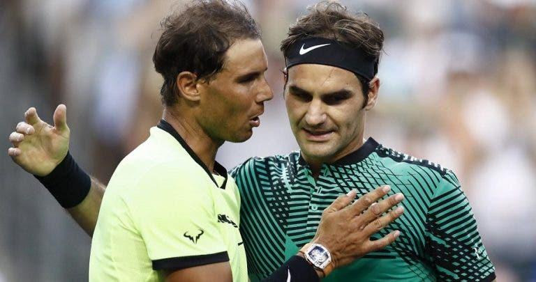 Federer e Nadal já conhecem hora para o primeiro confronto em Wimbledon desde 2008