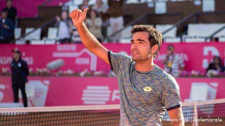 Frederico Silva supera batalha frente ao prodígio do ténis espanhol rumo aos 'oitavos' em Itália