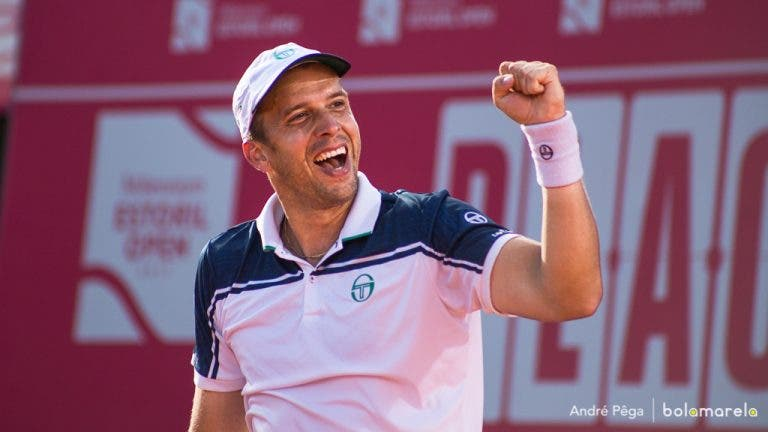 Gilles Muller desafia Pablo Carreno Busta na final do Millennium Estoril Open