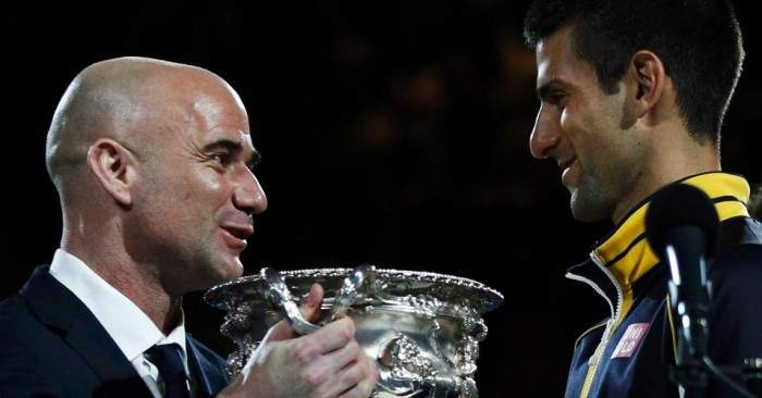 Djokovic: «O Agassi é uma pessoa por quem tenho um enorme respeito»