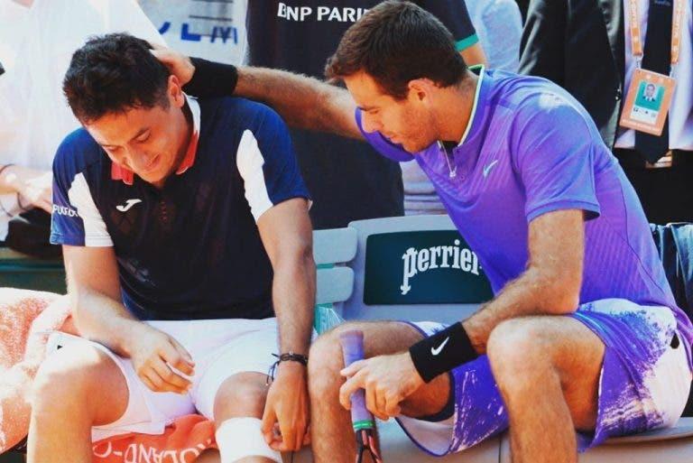 [Video] INCONSOLÁVEL! Nicolas Almagro desiste de Roland Garros em lágrimas