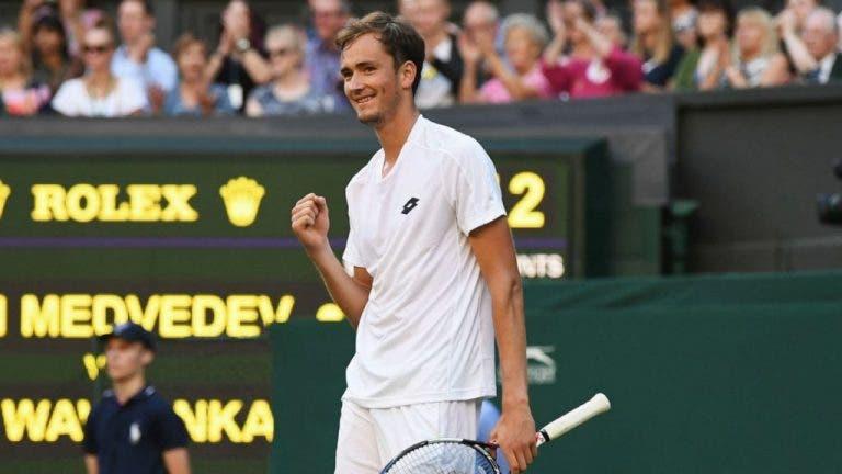 Medvedev: «Se um amigo me dissesse que ia ganhar ao Wawrinka diria que estava louco»