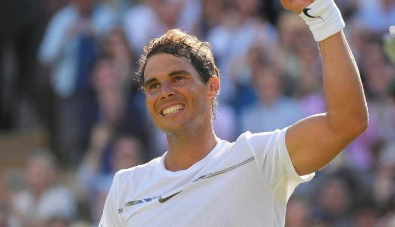 Rafael Nadal vence e está na segunda semana de Wimbledon pela segunda vez desde 2011