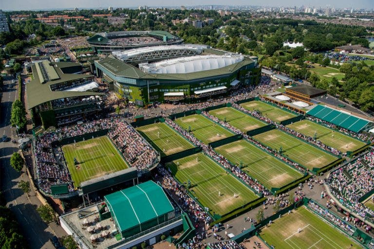 Wimbledon rende-se ao tie break no quinto set