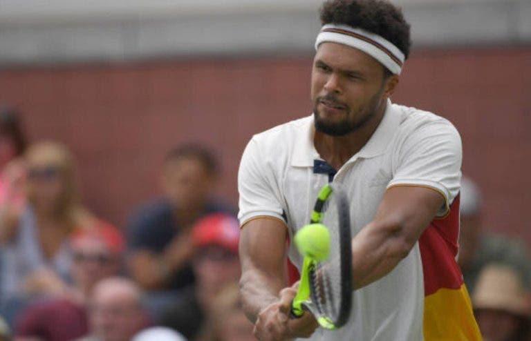 Tsonga admite: «Existe a possibilidade de não recuperar a tempo de Wimbledon»