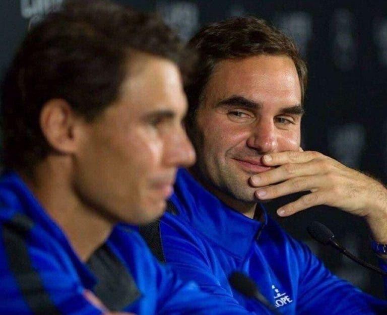 Nadal sobre Federer: «Tive muitas derrotas e muitas vitórias mas a nossa relação nunca mudou»