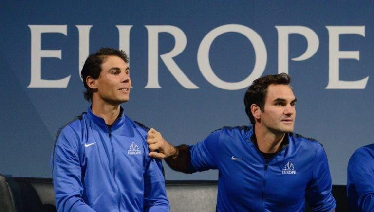 Nadal: «Claro que o Federer gostava de ser o jogador com mais Grand Slams»