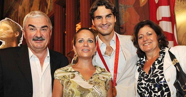 Pai de Federer tem tanto orgulho em Roger… como na filha enfermeira