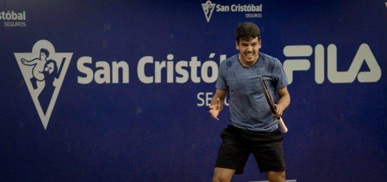 VITÓRIA. Domingues vai disputar em São Paulo segundo quadro principal ATP da carreira