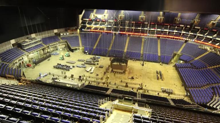 [VÍDEO] A construção do palco para as ATP Finals… em 60 segundos!