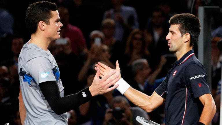 Siga Novak Djokovic vs. Milos Raonic no nosso live center