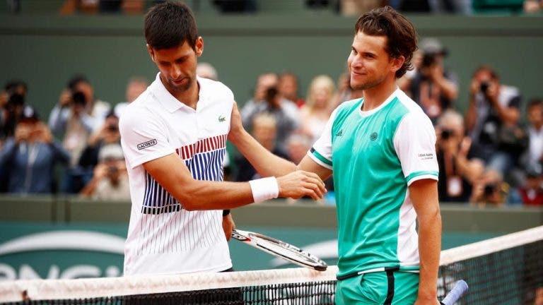 Definido o programa para a 2.ª jornada do Grupo de Federer e Djokovic