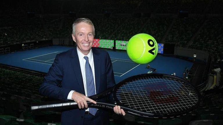Presidente da Tennis Australia responde às críticas: «As condições não eram perigosas»