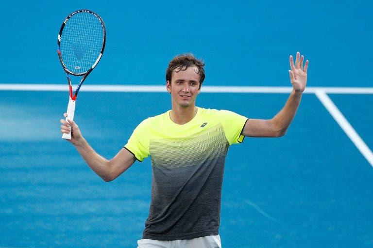 Daniil Medvedev: «Não há muitos jogadores a gostar do meu estilo de jogo»