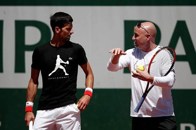Agassi: «Ao mais alto nível, o Djokovic é o melhor que já vi na vida»