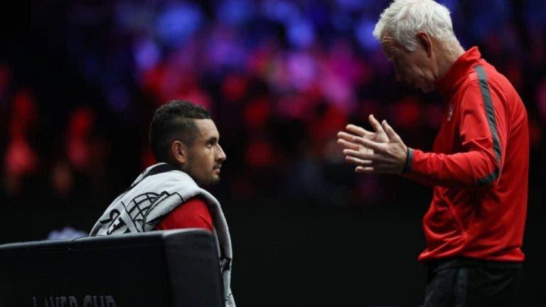 McEnroe: «Se o Kyrgios continuar assim, será top 10 até ao final do ano»