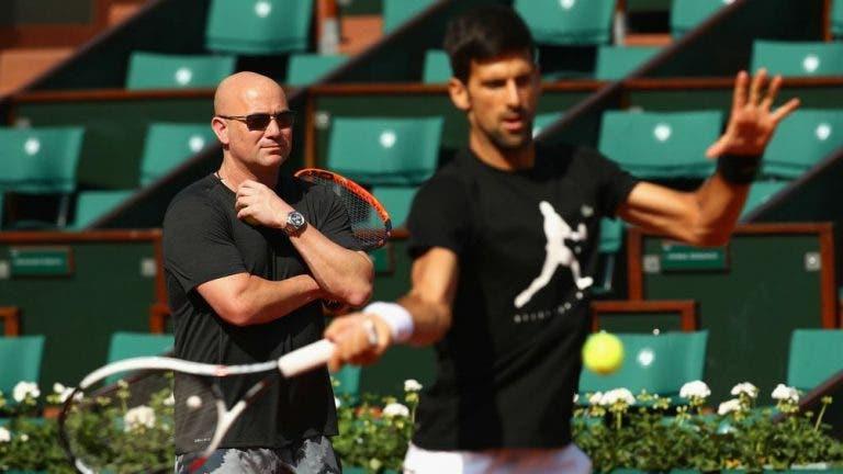 Agassi: «Djokovic tem a condição física de um jovem de 25 anos»