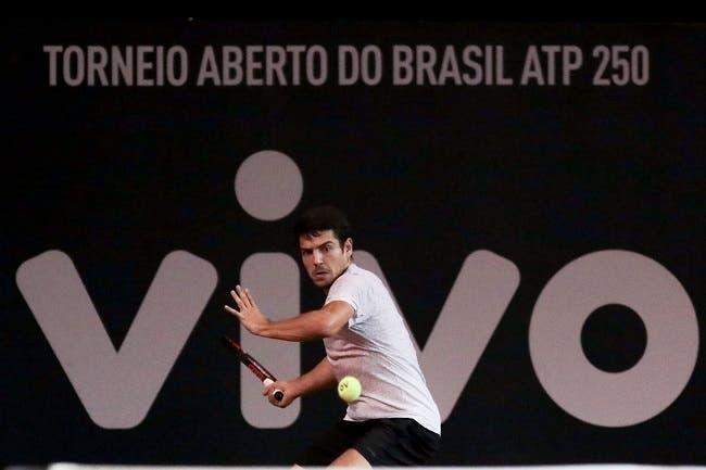 João Domingues defronta Fabio Fognini em São Paulo esta quarta-feira