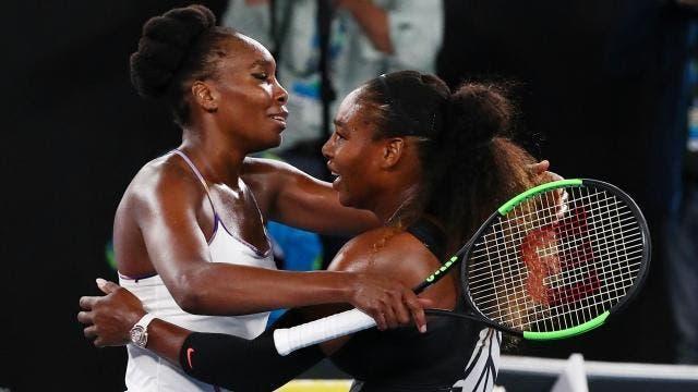 Venus vs. Serena já tem hora esta quinta-feira no Kentucky