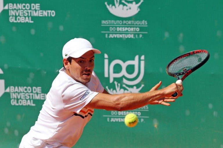 João Domingues travado na primeira ronda do Challenger de Blois
