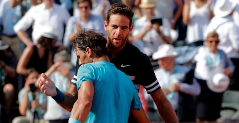 Del Potro não tem dúvidas: «O favorito para Roland Garros… é Nadal»