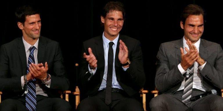 Federer: «Se os jovens não derrotarem o Nadal, eu ou o Djokovic ninguém vai querer saber…»