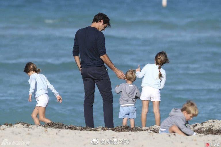 Federer revela a prenda que 'recusou' dar aos filhos no Natal