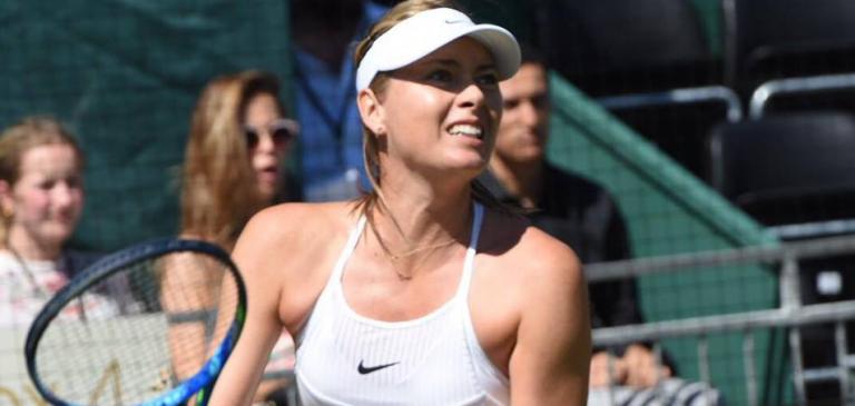 Sharapova perde duelo de Marias com Sakkari em Hurlingham