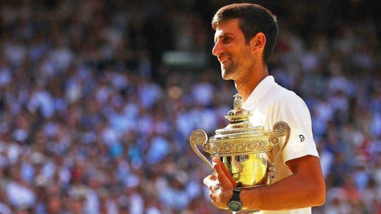 Wimbledon foi o oitavo Grand Slam consecutivo conquistado por um tenista com mais de 30 anos