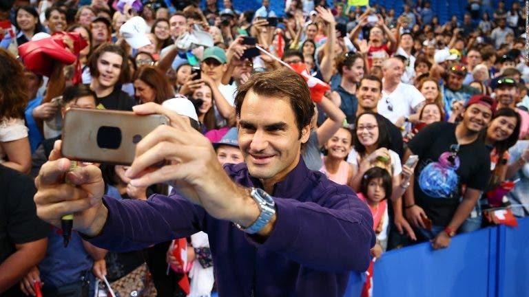 Federer: «Tenho saudades dos meus fãs, mas sabemos que não podemos interagir com eles como antigamente»