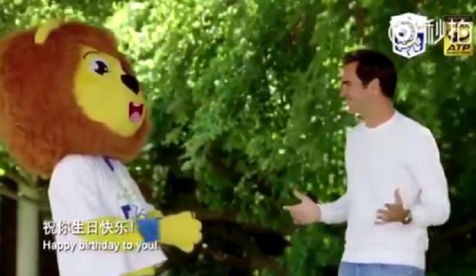 [VÍDEO] A original promoção ao Masters 1000 de Xangai com Federer à mistura