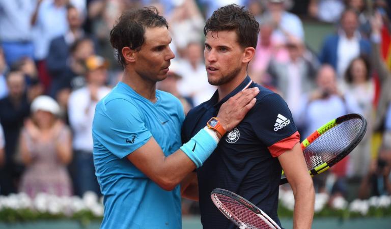 Thiem diz que apesar da derrota com Fognini, Nadal é favorito para Roland Garros… mas com uma diferença