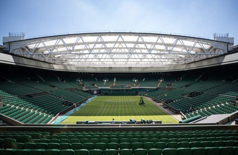 Wimbledon vai doar bolas e toalhas da edição de 2020 para caridade