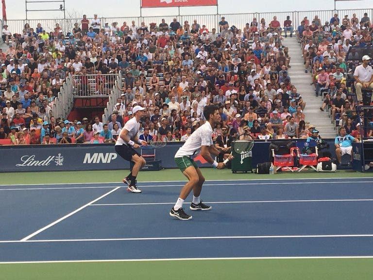 Djokovic e Anderson despacham Shapovalov e Auger Aliassime em pares rumo aos 'oitavos' em Toronto