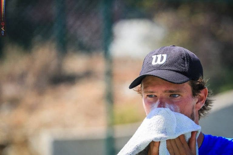 Tiago Cação regressa às finais ITF quase um ano depois