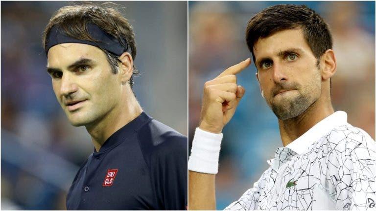 As contas do Grupo Borg: vencedor de Djokovic-Federer passa às 'meias'