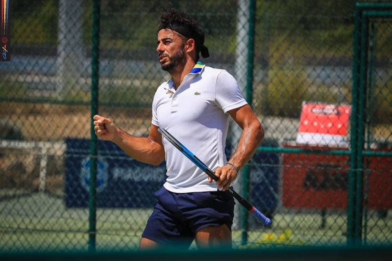 Cinco portugueses nos 'oitavos' do segundo ITF M15 da Beloura