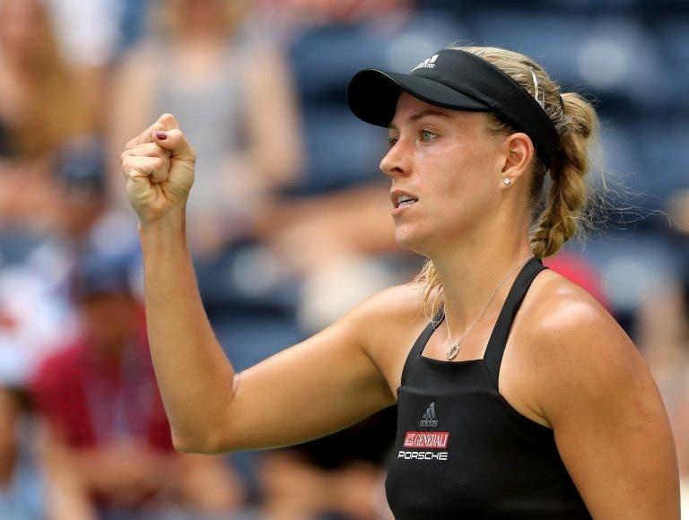 Angelique Kerber também já está na segunda ronda do US Open