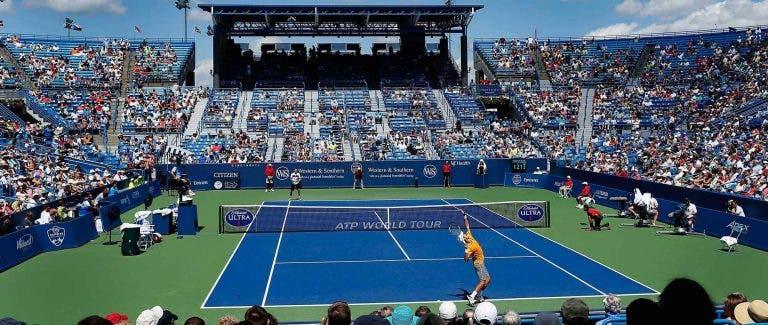 Masters 1000 Cincinnati. Sport TV com transmissão exuastiva e Sousa a abrir